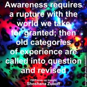 Awareness, Responsibility